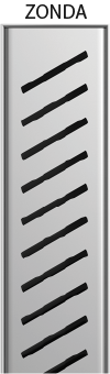 Duschrinne Premium Zonda